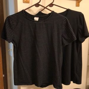 Two H&M t-shirts